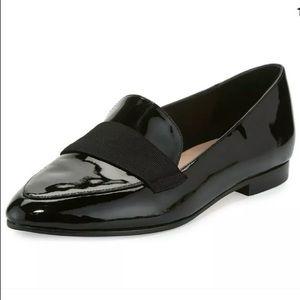 Kate Spade Black Leather Corina Flats / Loafers